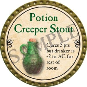 Potion Creeper Stout - 2016 (Gold)