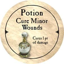 Potion Cure Minor Wounds - 2006 (Wooden) - C37