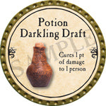 Potion Darkling Draft - 2016 (Gold)
