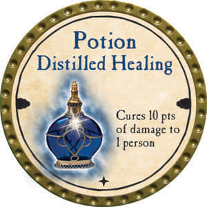 Potion Distilled Healing - 2014 (Gold)