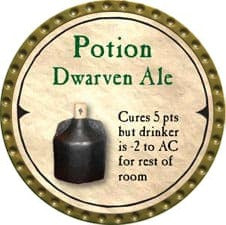 Potion Dwarven Ale - 2007 (Gold)