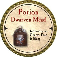 Potion Dwarven Mead - 2007 (Gold)