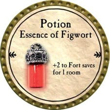 Potion Essence of Figwort - 2009 (Gold)