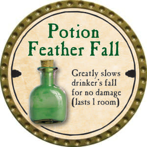 Potion Feather Fall - 2014 (Gold)