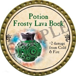 Potion Frosty Lava Bock - 2016 (Gold)