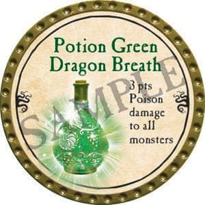 Potion Green Dragon Breath - 2016 (Gold)