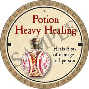 Potion Heavy Healing - 2020 (Gold) - C54