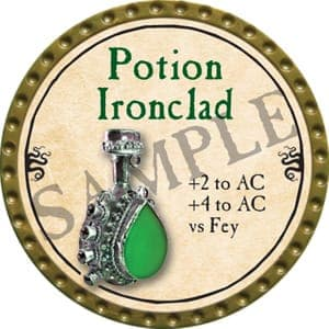 Potion Ironclad - 2016 (Gold)