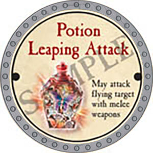 Potion Leaping Attack - 2017 (Platinum)
