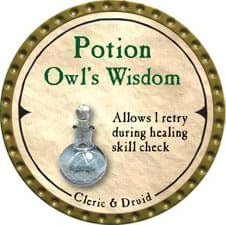 Potion Owl's Wisdom - 2007 (Gold)