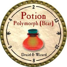 Potion Polymorph (Bear) - 2009 (Gold) - C26