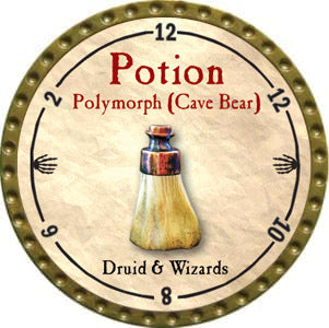 Potion Polymorph (Cave Bear) - 2012 (Gold)
