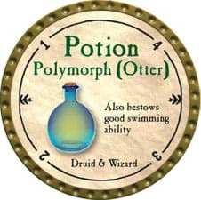 Potion Polymorph (Otter) - 2009 (Gold)
