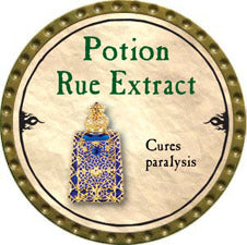 Potion Rue Extract - 2010 (Gold)