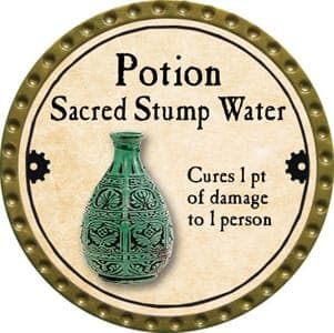 Potion Sacred Stump Water - 2013 (Gold)