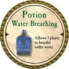 Potion Water Breathing - 2007 (Gold)