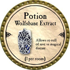 Potion Wolfsbane Extract - 2010 (Gold)