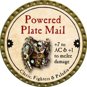 Powered Plate Mail - 2013 (Gold) - C22