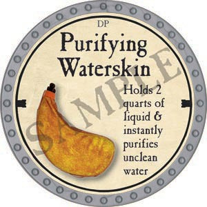 Purifying Waterskin - 2020 (Platinum)