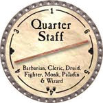 Quarter Staff - 2008 (Platinum)