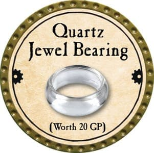 Quartz Jewel Bearing - 2013 (Gold)
