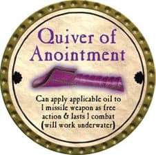 Quiver of Anointment - 2011 (Gold) - C1