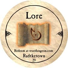 Radtketown (Lore) - 2010 (Copper)
