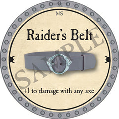 Raider's Belt - 2018 (Platinum)