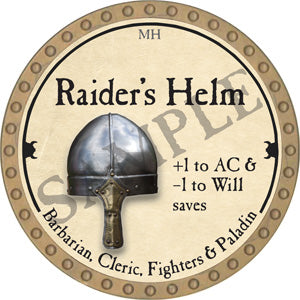 Raider's Helm - 2018 (Gold)