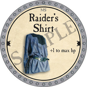 Raider's Shirt - 2018 (Platinum)