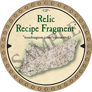 Relic Recipe Fragment 4 - 2019 (Gold) - C007