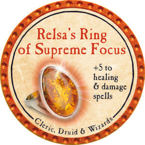 Relsa's Ring of Supreme Focus - 2014 (Orange) - C1