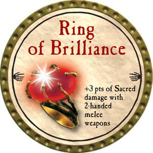 Ring of Brilliance - 2012 (Gold)