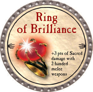 Ring of Brilliance - 2012 (Platinum) - C37