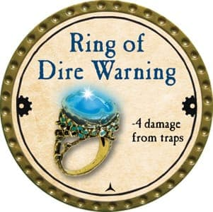 Ring of Dire Warning - 2013 (Gold) - C3