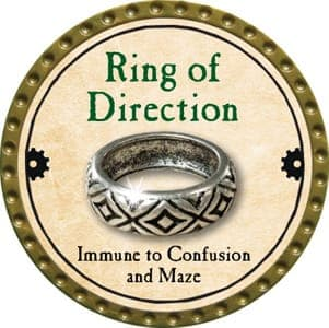Ring of Direction - 2013 (Gold)
