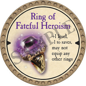 Ring of Fateful Heroism - 2019 (Gold) - C21