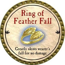 Ring of Feather Fall - 2009 (Gold)