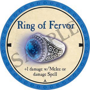 Ring of Fervor - 2020 (Light Blue) - C26