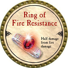 Ring of Fire Resistance - 2010 (Gold) - C37