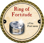 Ring of Fortitude - 2013 (Gold)