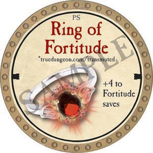 Ring of Fortitude - 2020 (Gold) - C54