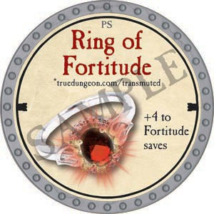 Ring of Fortitude - 2020 (Platinum) - C22