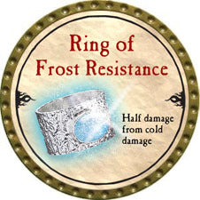 Ring of Frost Resistance - 2010 (Gold)