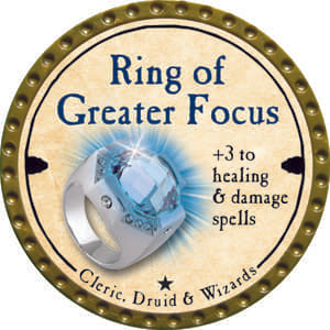 Ring of Greater Focus - 2014 (Gold) - C1