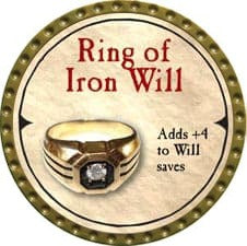 Ring of Iron Will - 2007 (Gold)