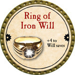 Ring of Iron Will - 2013 (Gold)