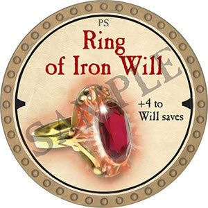 Ring of Iron Will - 2019 (Gold)