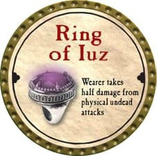 Ring of Iuz - 2008 (Gold)