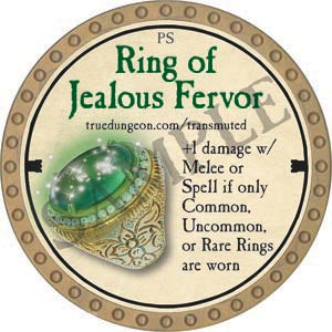 Ring of Jealous Fervor - 2020 (Gold)